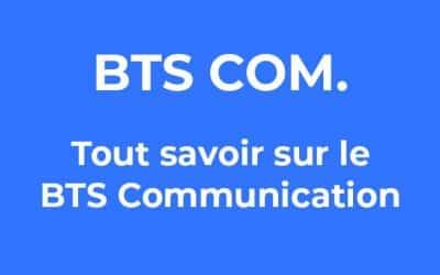 BTS Communication : informations sur le diplôme