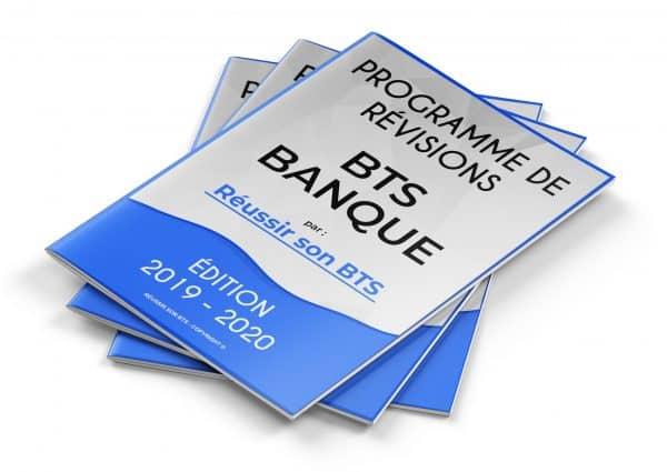 couverture du programme BANQUE