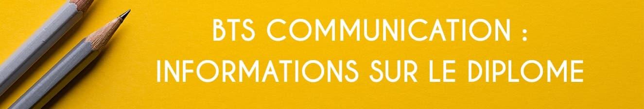 les informations sur le bts communication