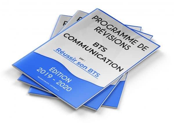 couverture du programme Communication