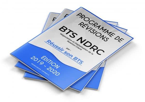 couverture du programme NDRC