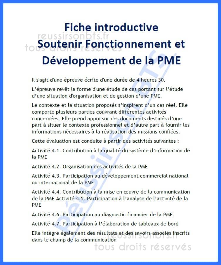 extrait du programme GPME